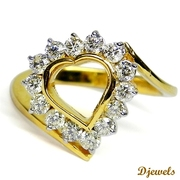Diamond Rings,  Diamond Ladies Ring,  Wedding Jewellery