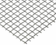 Aluminum wire mesh from 0.055 - 4.0 mm aluminum wire