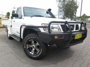 Nissan Patrol 4.2 2001 Nissan Patrol GU DX (4x4) White Manual 5sp M
