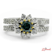 Flower Shape Diamond Ring Hyperbius