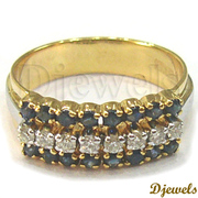 Diamond gold Ladies Ring,  Engagement & Wedding Ring Jewellery 14K Gold
